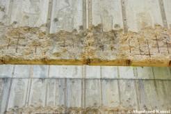 Damaged Shooting Range Concrete