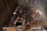 Damaged Wooden Staircase