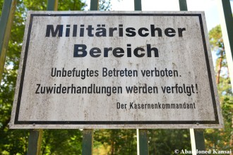 Militärischer Bereich