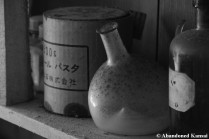 More Abandoned Old Medical Stuff Monochrome