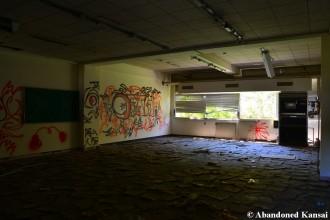 Vandalized Classroom