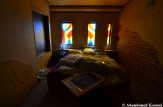 Abandoned Stained Glass Hotel Room
