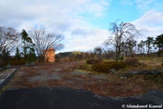 Partly Demolished Parking Lot