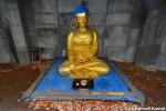 Abandoned Golden BuddhaStatue