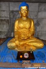 Abandoned Japanese Buddha Statue
