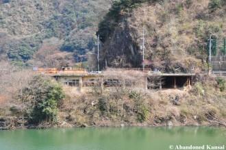Abandoned Uji River Ryokan