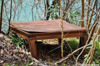 Decaying Ryokan Table