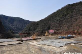 Demolished Uji River Ryokan
