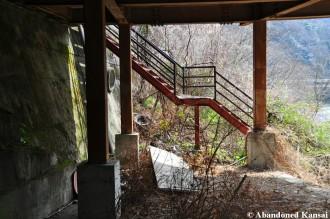 Ryokan Outdoor Staircase