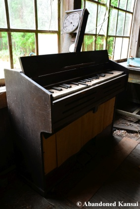 Abandoned School Piano In Japan