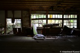 Decaying Japanese School Classroom