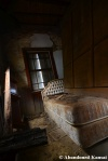 abandoned dirty mansionbedroom