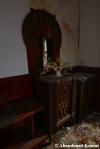 abandoned furniture radio