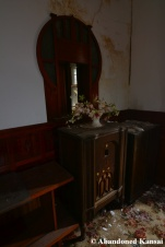 abandoned furniture radio