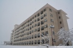 abandoned snowed in golfhotel