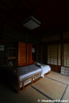 japanese room with western stylebed