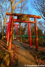torii at the fox village