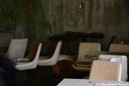 Abandoned Skiing Resort Bar Chairs