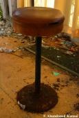 Rusty Bar Stool
