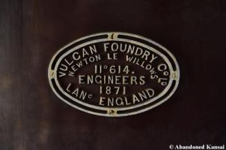 Vulcan Foundry Worksplate
