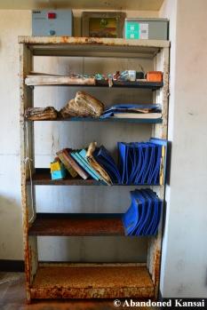 Abandoned Hospital Cabinet