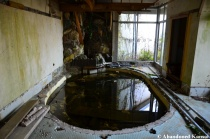 Abandoned Japanese Shared Hotel Bath