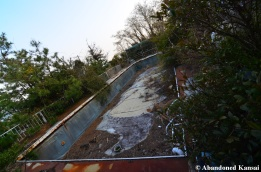 Abandoned Japanese Shared Hotel Pool