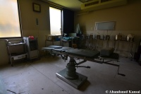 Abandoned Japanese Surgery Table