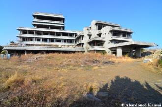 Abandoned Massive Concrete Hotel