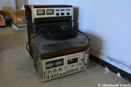 Abandoned Victor Audio Equipment