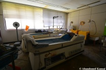 Hospital Equipment Probably Beyond Repair