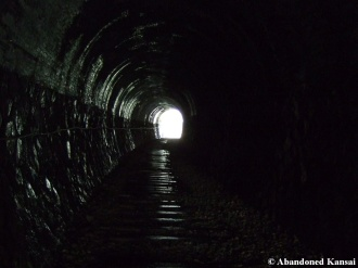 Inside Abandoned Railway Tunnel