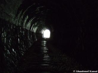 Inside Abandoned Railway Tunnel