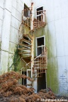Outdoor Hotel Staircase