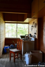 Abandoned Holiday Home Kitchen