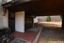 Abandoned Hotel Entrance