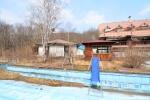 Abandoned Resort Hotel Outdoor KiddiePool