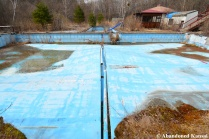 Abandoned Spa Hotel Outdoor Pool