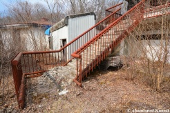 Dilapidated Outdoor Hotel Stairs