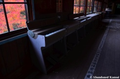 Gloomy School Hallway