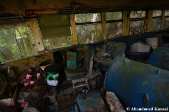Abandoned Company Bus