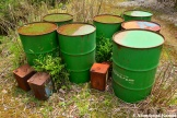 Abandoned Oil Barrels