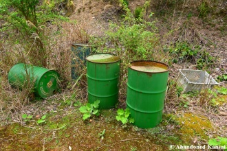Abandoned Oil Drums
