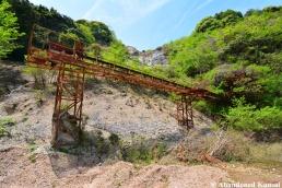 Abandoned Quarry Equipment