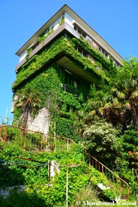 Beautiful Overgrown Resort Hotel