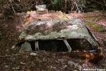 Car Partly Buried By ALandslide