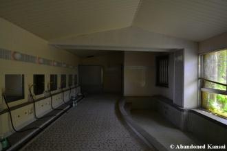 Unimpressive Indoor Bath