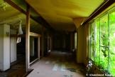 Vandalized Overgrown Resort Hotel