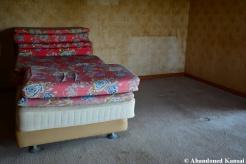 Vandalized Resort Hotel Bed