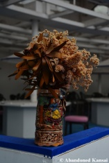 Dried Flowers In A Beer Stein